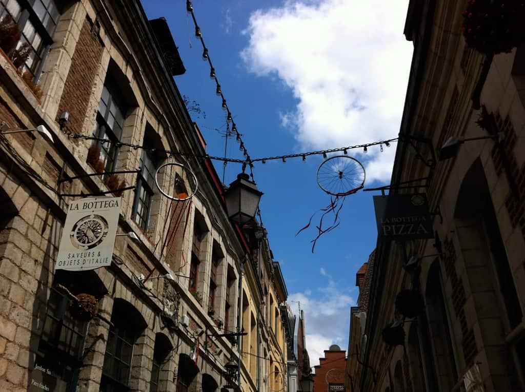 lille, jessica's dinner party, travel, europe, restaurant, eats, day trip, review, france, la bottega, pizza