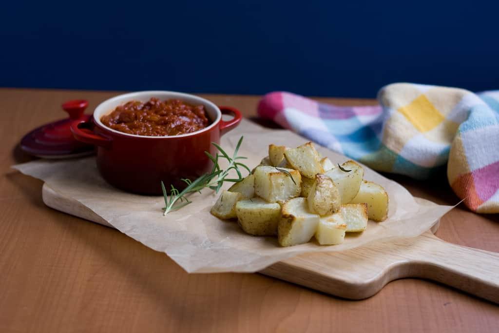 patatas bravas | jessica's dinner party